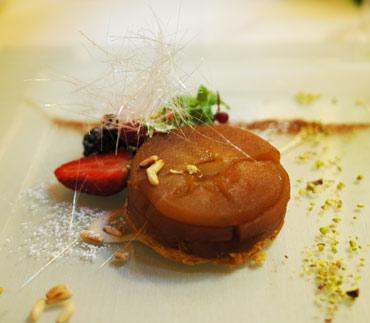 Nachtisch in der Osteria di Passignano